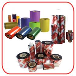 Ribbon Textil Resina Gran Resistencia - Negro Colores - Oro - Plata - Cobre - Blanco