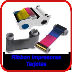 Cartuchos Ribbon - Impresoras Tarjetas - Bobinas de Ribbon de Sublimación